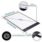 A4 LED Light Pad Light Board Tracing Light Box
