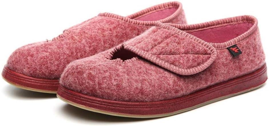 TAYIBO Zapatos para diabéticos ortopédicos,Zapatos Ajustables para el pie diabético, Dedos valgus pies deformados, ensanchados -38_Pink