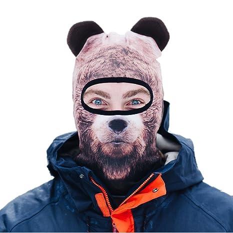 e19a2d7273c Image Unavailable. Image not available for. Color  Beardo Balaclava Ski Mask  ...