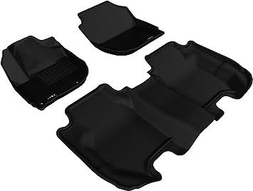 Nylon Carpet Black Coverking Custom Fit Front Floor Mats for Select Infiniti I30//I35 Models