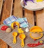 Ds Mould Combo, Plastic, Yellow, 15 Pc Set
