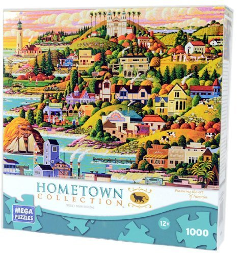 - HOMETOWN COLLECTION Castle Country 1000 Piece Puzzle