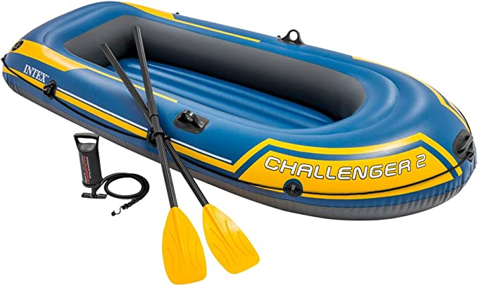 Amazon.com: Intex Challenger K2 Kayak, Set de Kayak inflable ...