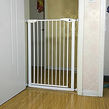 Gato Para Mascotas Perro Valla Bar De La Puerta Niños Baby Highten Cifrado Puerta De Seguridad ...