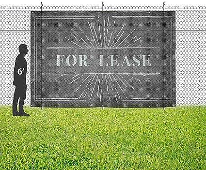 CGSignLab 12x8 Nostalgia Burst Wind-Resistant Outdoor Mesh Vinyl Banner for Lease