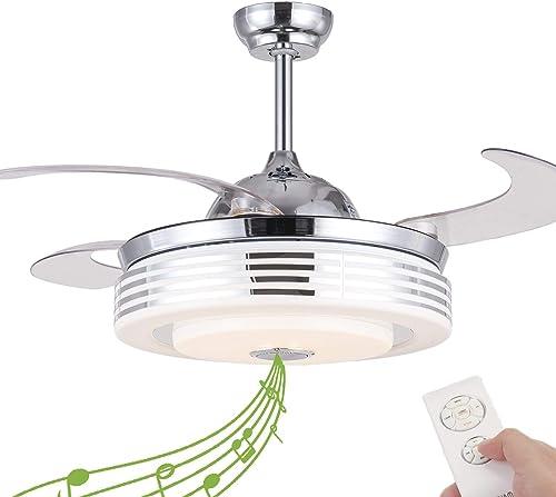 NUTCRUST Retractable Invisible Ceiling Fan