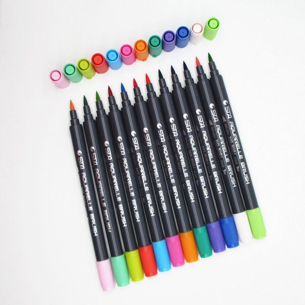 TAOtTAO 24 colores para selección de marcadores de doble ...