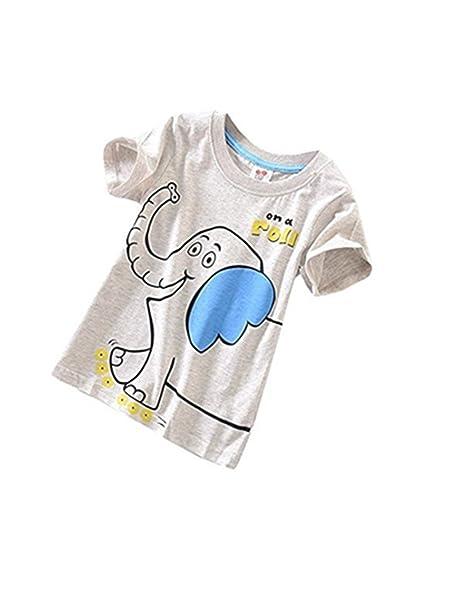 Amazon.com: forestime verano Casual niños bebé Niños Manga ...