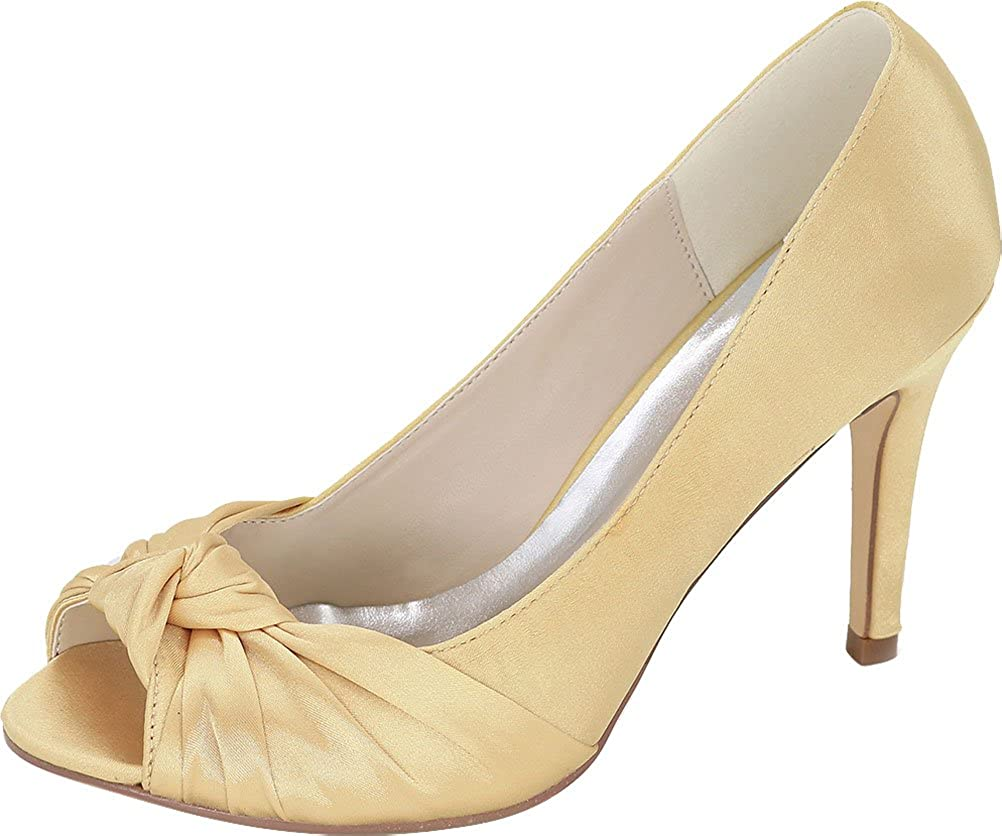 CFP , Damen Peep-Toe, Gold - Gold - - - Größe  38 234298
