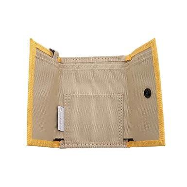 1ede39e581d Amazon.co.jp: coruri wallet for Weekend(er)/コルリ 小型財布【ベーシックイエロー】 7982401:  文房具・オフィス用品