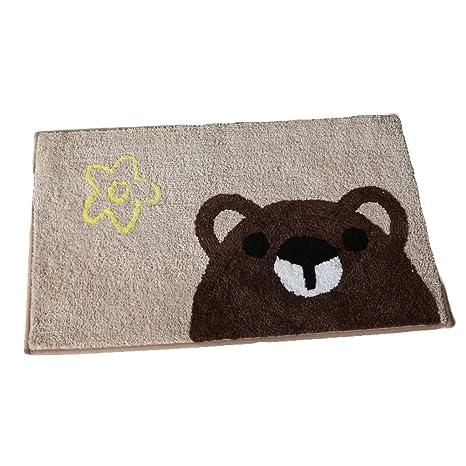 cute kitchen mats floral kitchen panda superstore cute bear pattern nonslip indooroutdoor small floor mat kitchen mats amazoncom indoor
