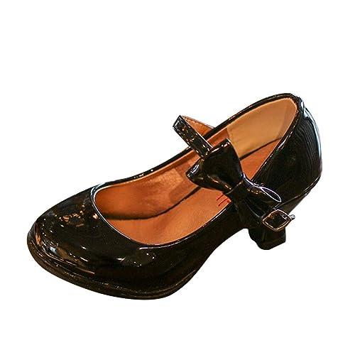 vente énorme le magasin acheter de nouveaux Sandales Ceremonie Fille, Chaussure à Talon Enfant Ballerine Princesse  Paillettes pour Mariage Déguisement
