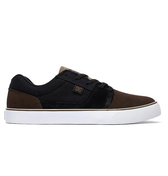 DC Shoes Tonik Sneakers Skateboardschuhe Herren Damen Unisex Erwachsene Schwarz/Braun (Timber)