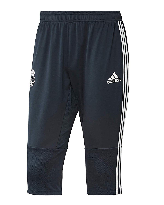 adidas Pants 3/4 Real Madrid Kids/Boys Soccer 2018-19 (YXL) by adidas
