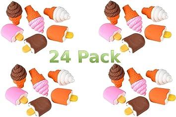 erasers pack Icecream and sundae