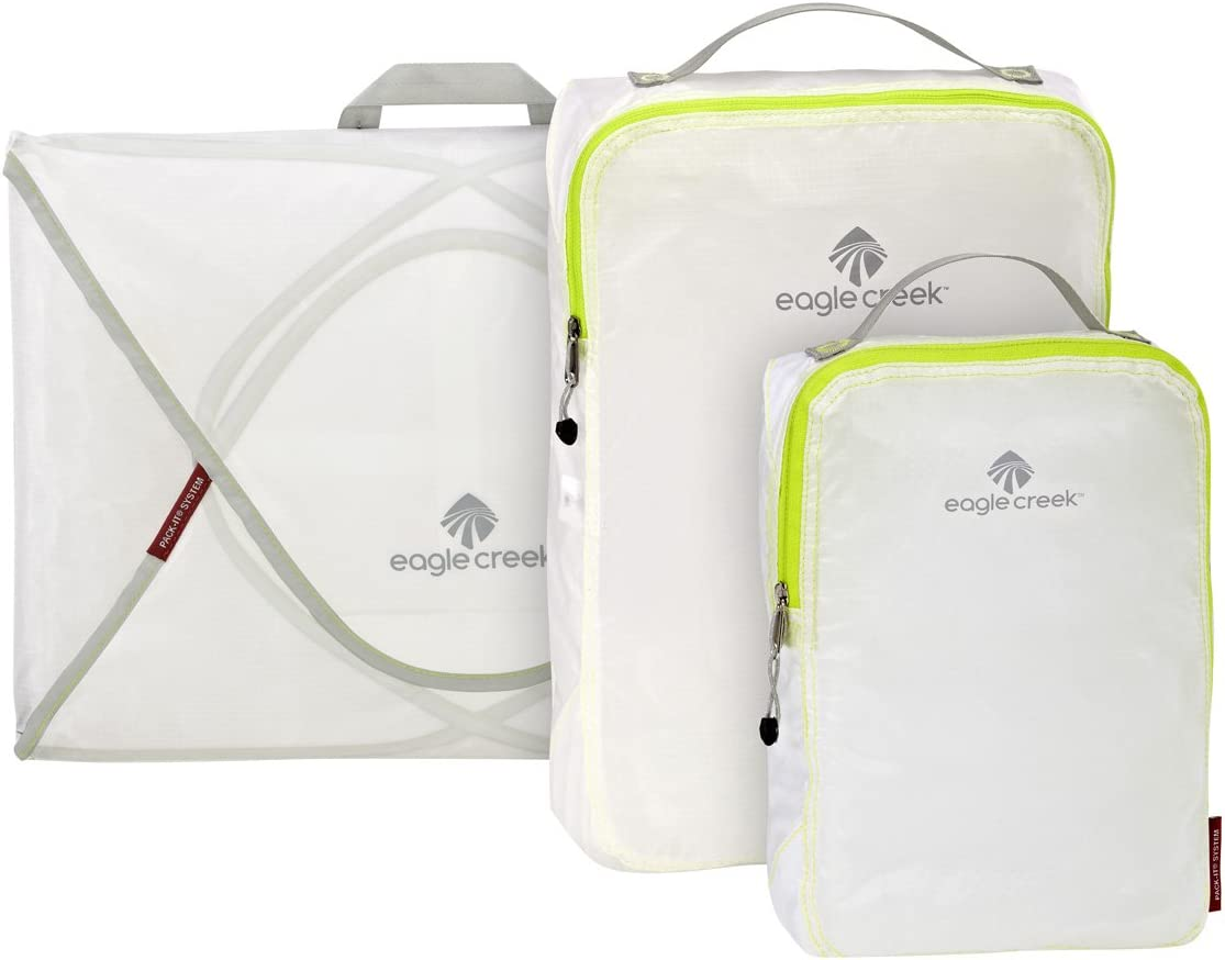 eagle creek Pack-it Specter Starter Set, White/Strobe, One Size