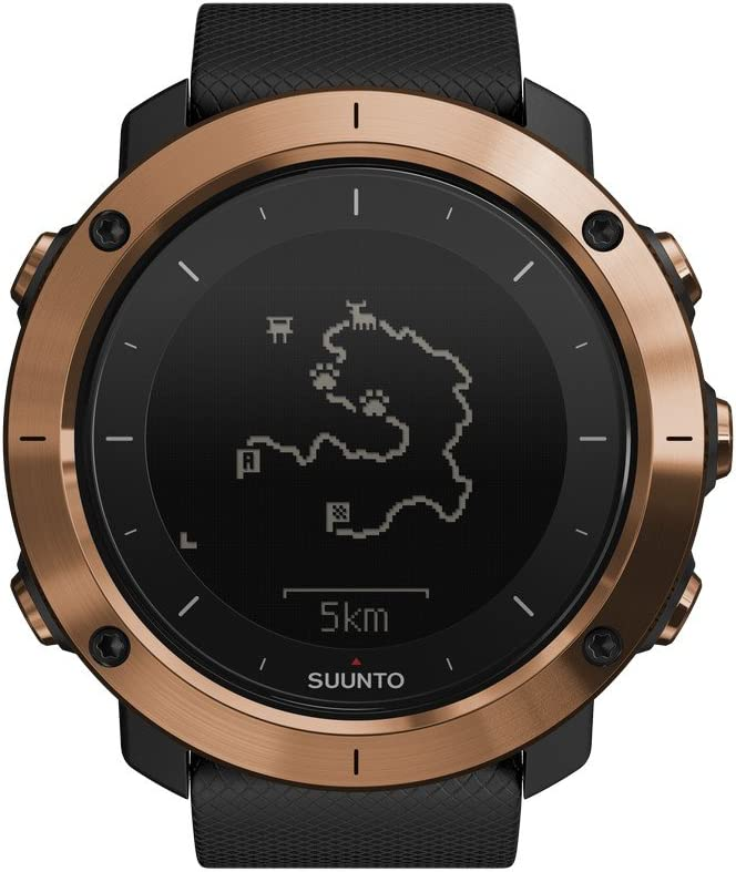 Suunto TRAVERSE Alpha, Reloj multideporte, Cobre, SS023443000