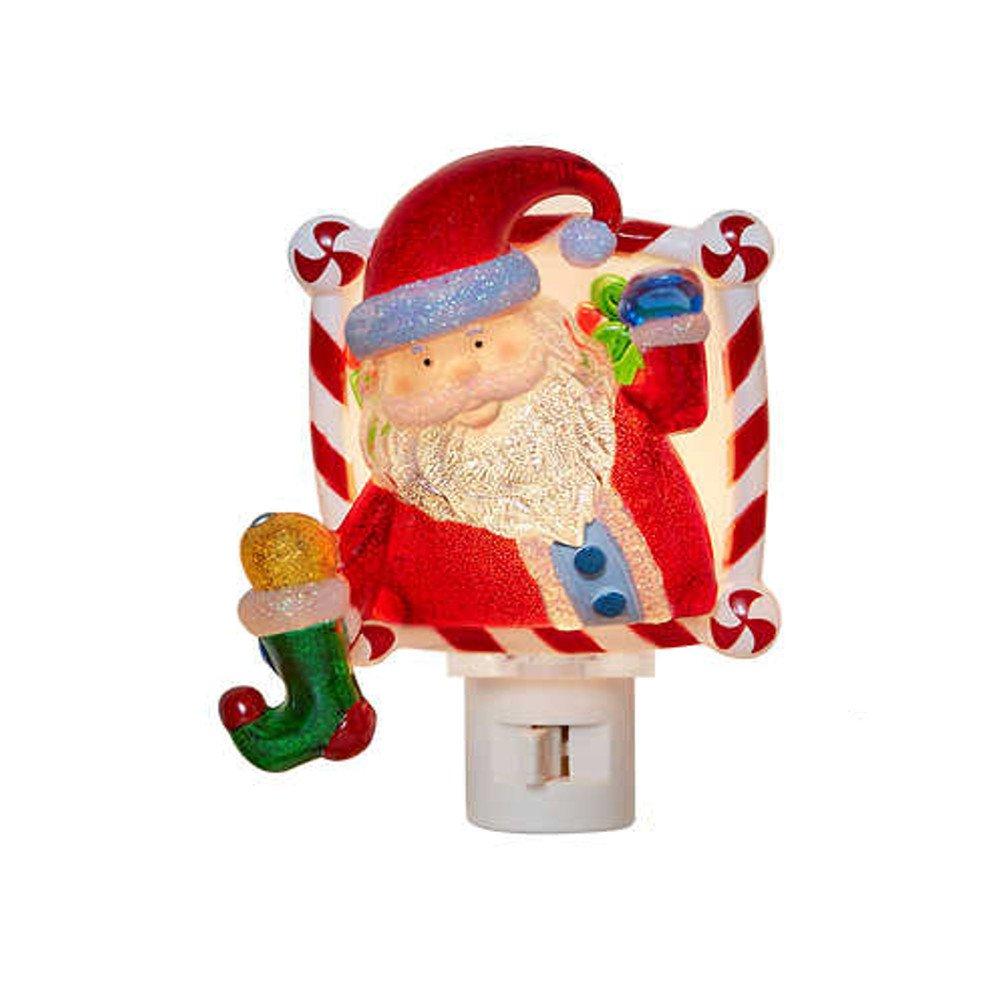 Amazon Com Santa Night Light Christmas Decorations Baby
