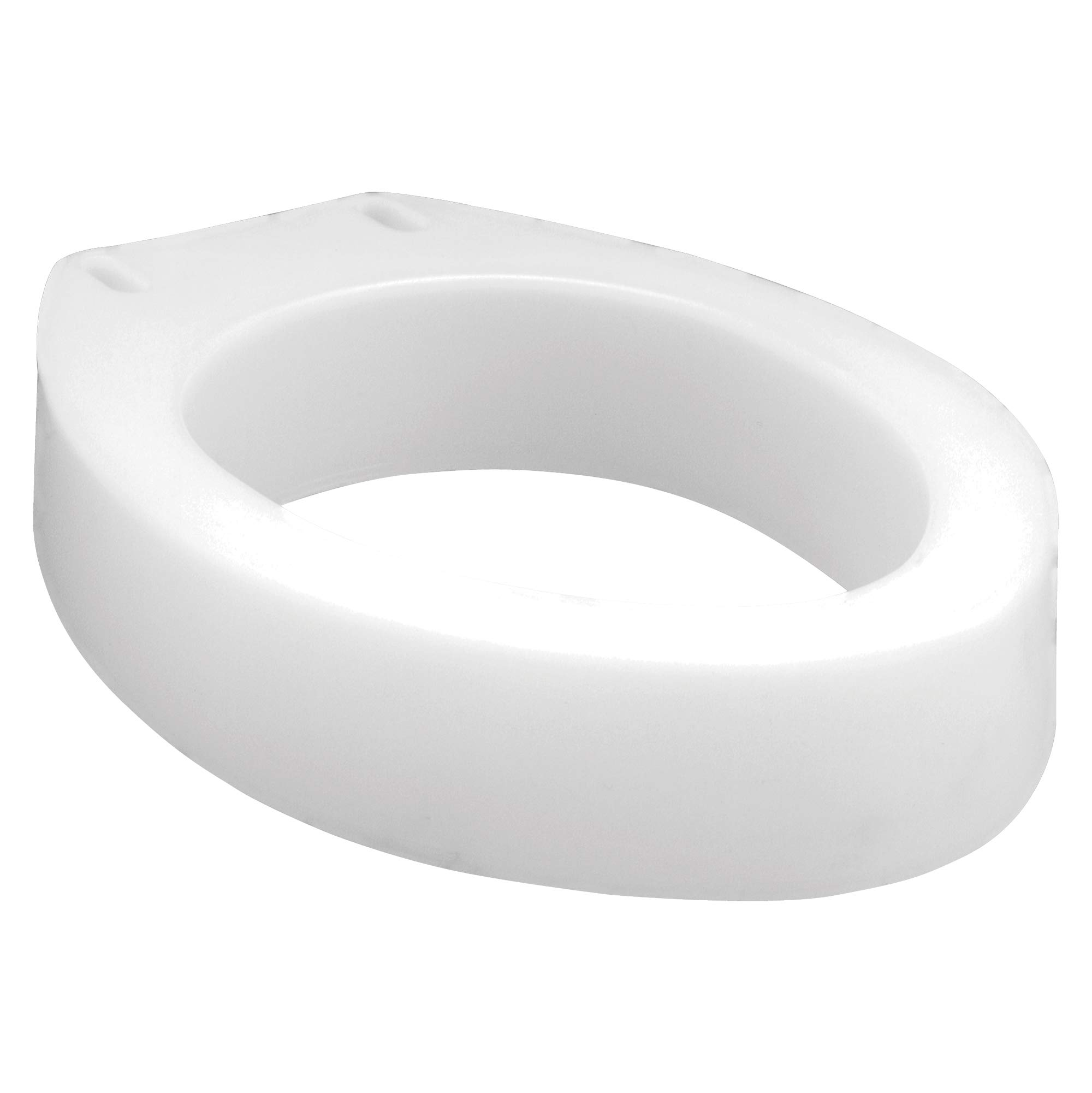 Carex Toilet Seat Riser, Elongated Raised Toilet Seat Adds 3.5 inches to Toilet Height, for Assistance Bending or Sitting, 300 Pound Weight Capacity