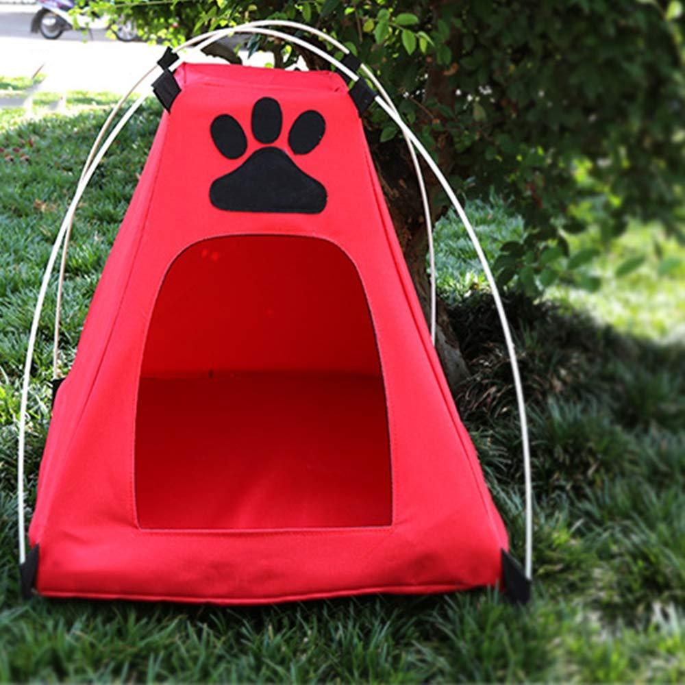 1 Pet nest Outdoor Folding pet Tent Waterproof Sunscreen Oxford pet cage Kennel
