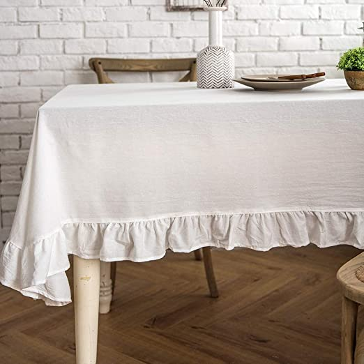 Rustic Wedding Plastic Banquet Tablecloth Bridal Shower Decoration