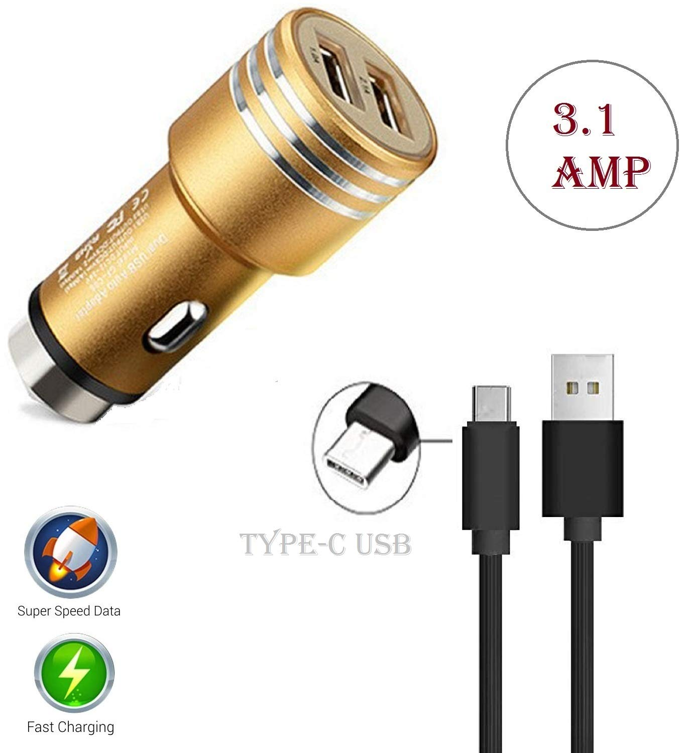 Fast Car Charger for Master Edition, Samsung Galaxy A10e