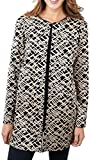 Joseph Ribkoff Black & Blush Abstract Pattern Coverup Jacket Style 171787 - Size 20
