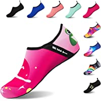 506f94a66d2b Water Shoes Barefoot Quick-Dry Slip On Aqua Yoga Beach Surf Swim Socks for  Men Women  Amazon.co.uk  Shoes   Bags