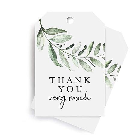 Amazon.com: Bliss Collections Greenery - Etiquetas de ...