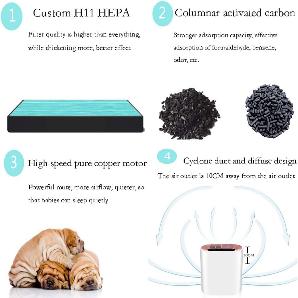 Gxet Purificadores de Aire con True HEPA Ion Negativo Carbón ...