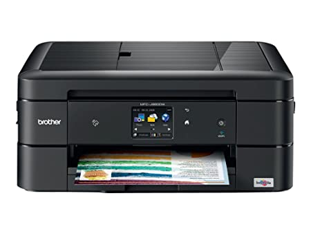 Brother MFC-J880DW All-in-One Color Inkjet Printer, Compact & Easy to Connect, Wireless, Automatic Duplex Printing, Amazon Dash Replenishment Enabled