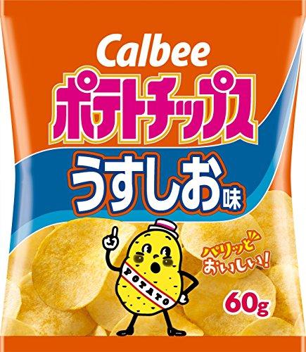 karubi 포테이토 팁(칩)《스》 얇은 하여 맛 60g×12 포