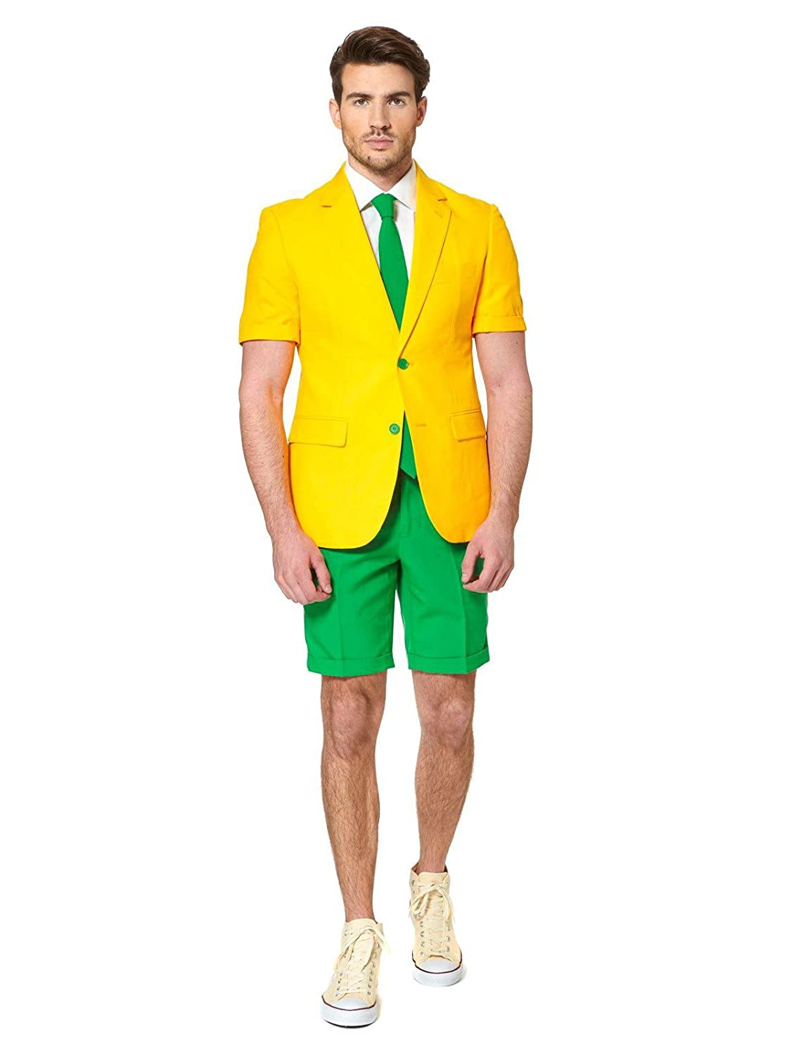 Generique - - - Opposuits Sommeranzug Grün and Gold XL (58) 1edf7d