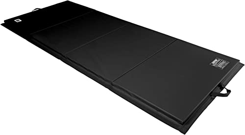 We Sell Mats 4 ft x 10 ft x 2 in Personal Fitness Exercise Mat, Lightweight and Folds for Carrying