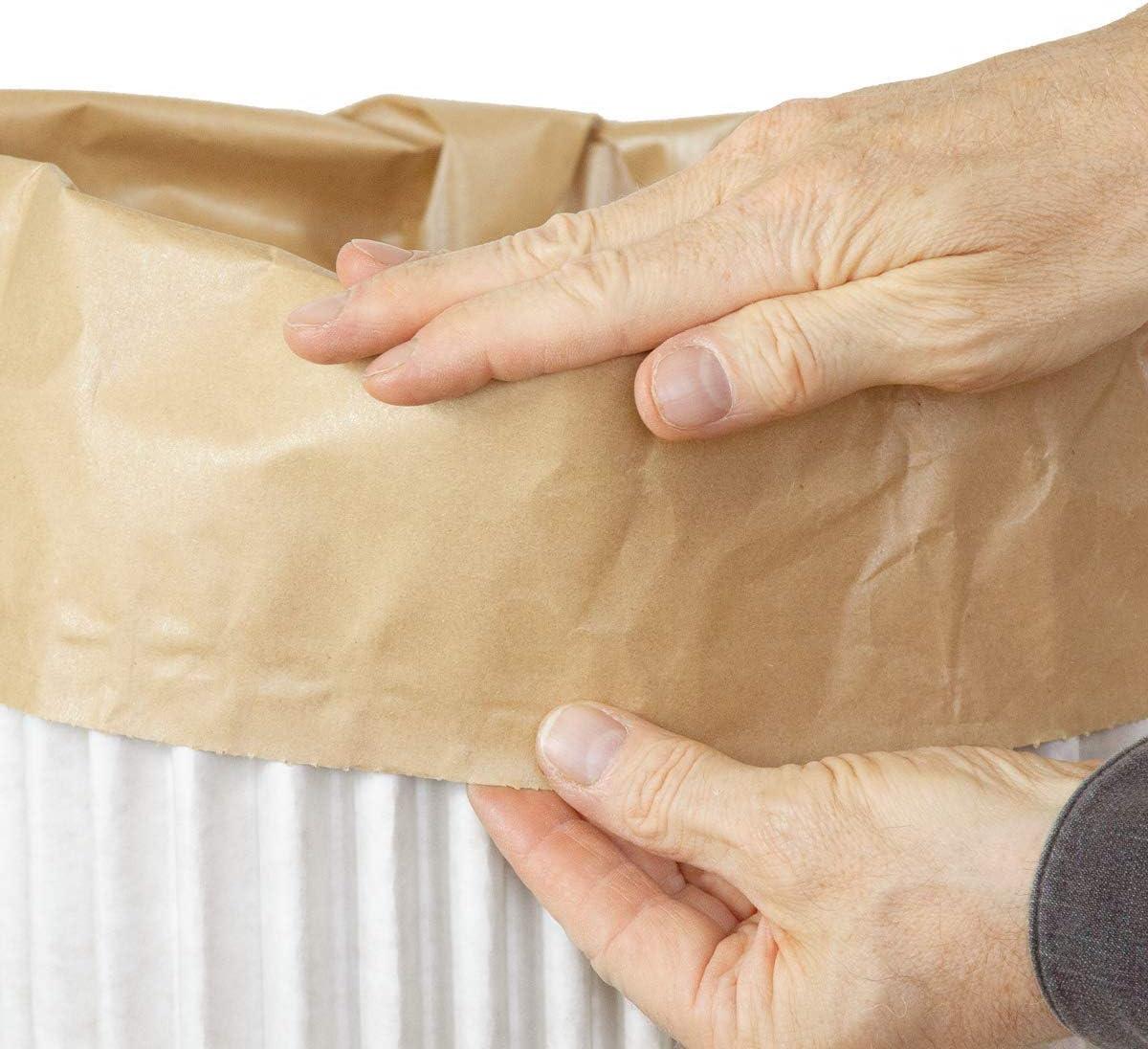 Dimensiones: 34,5 x 34,5 x h 75cm Cubos de basura cArt/ù Wave 2 cubos ecol/ógicos fabricados con cArt/ù cada uno viene con una bolsa interior reutilizable//reciclable Bolsa: 65 lt. Tama/ño: grande