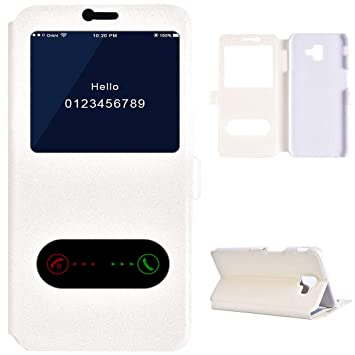 samsung galaxy j6 plus flip case