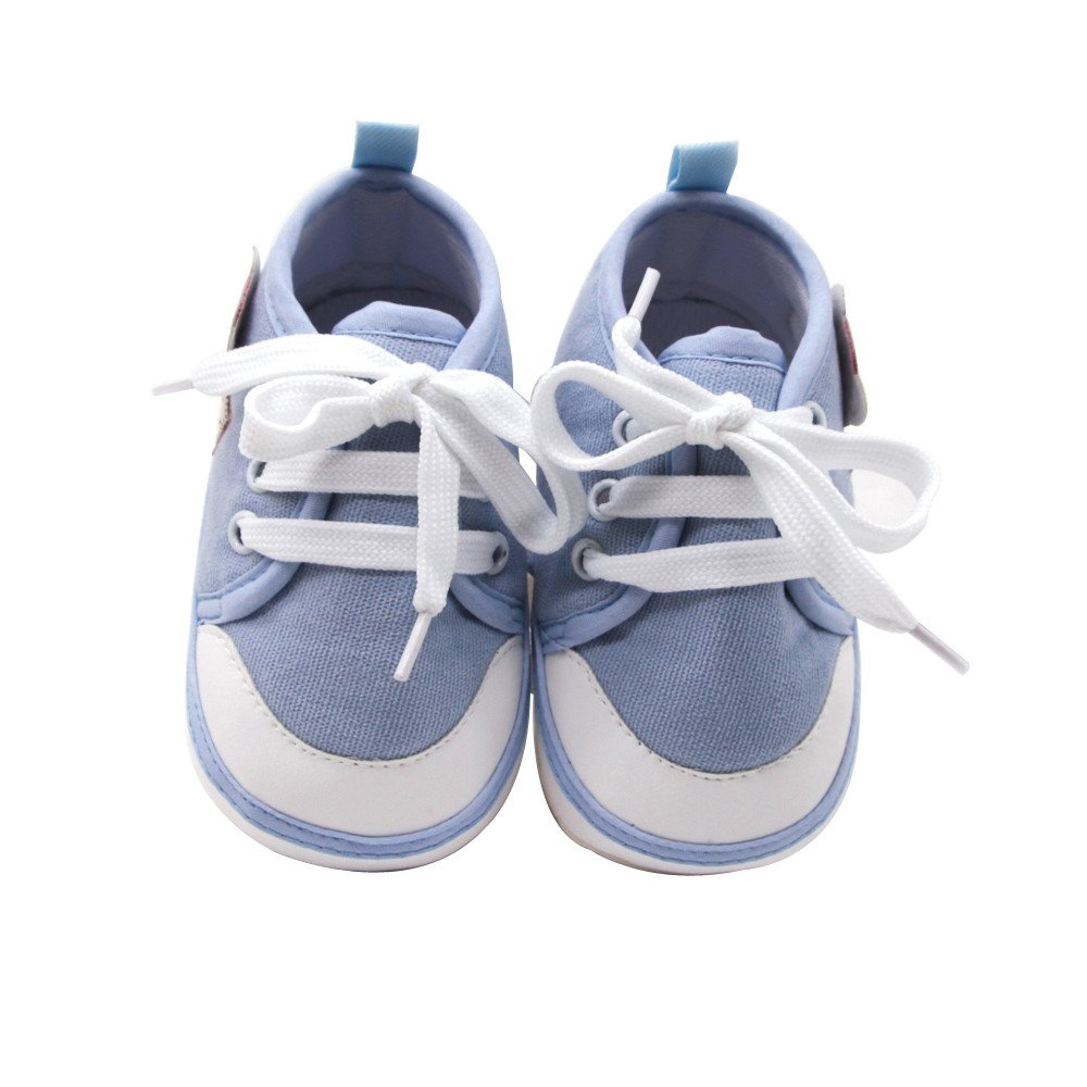 Respctful/_shoes for Baby Girls CuteToddler Baby Girls Boys Canvas Toddler Sneaker Anti-Slip First Walkers