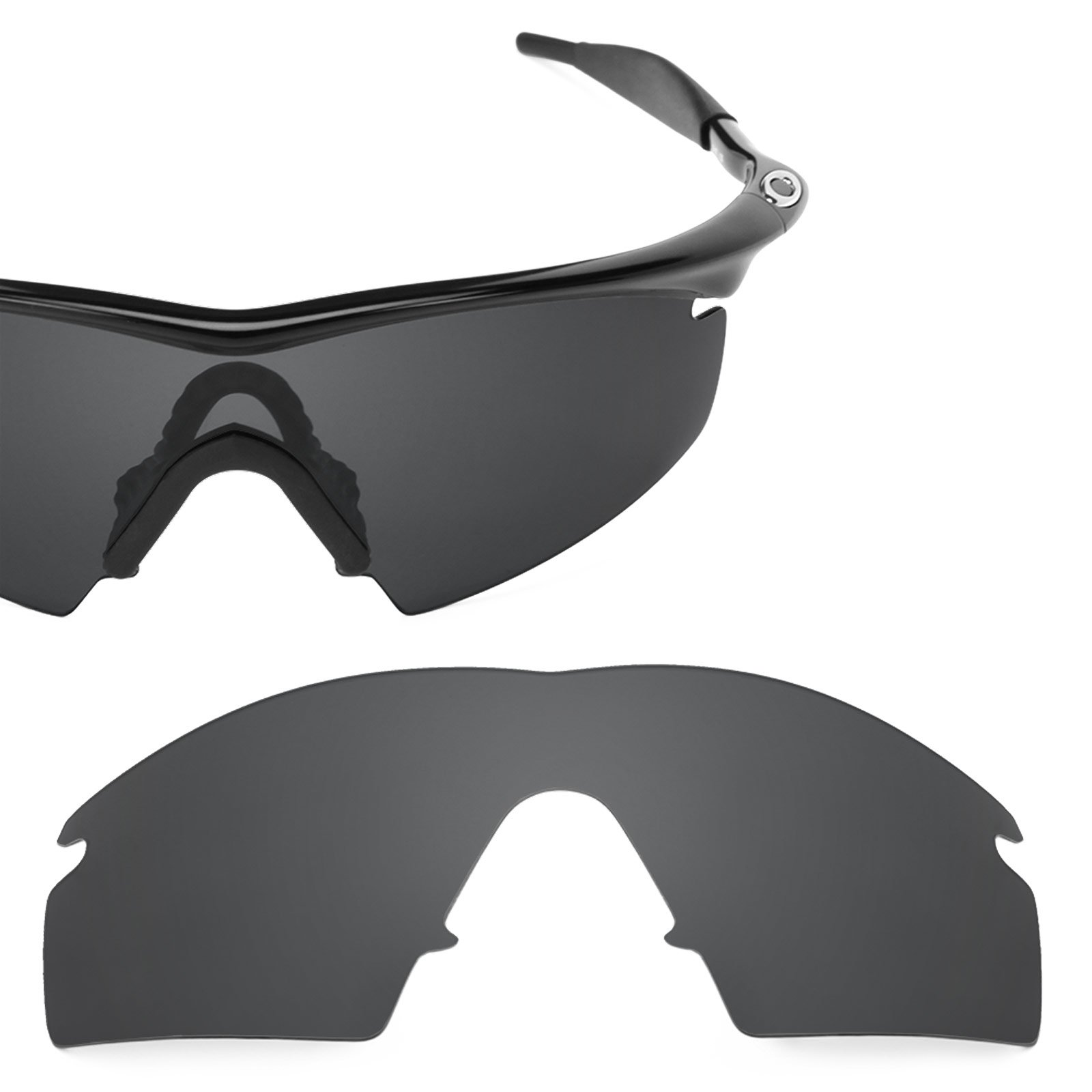 Revant Polarized Replacement Lens for Oakley M Frame Strike Stealth Black