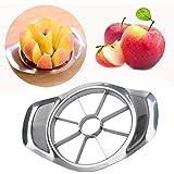 Rameng Universal Cuisine Coupe Pomme Pour fruits Acier Inoxydable Coupeur Hachoir