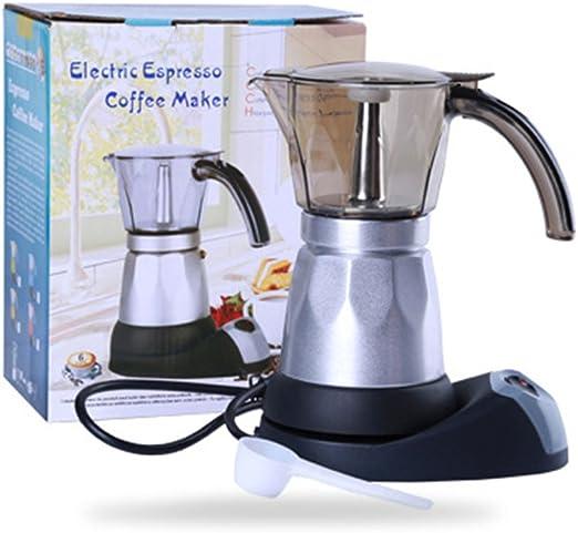 xuba Mini Home Cocina Eléctrico Calefacción Cafetera Moka Pot para ...