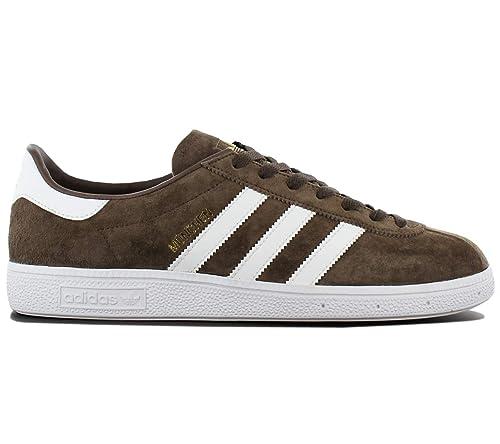 Détails sur Adidas Original Munchen Homme Baskets Chaussures de Sport