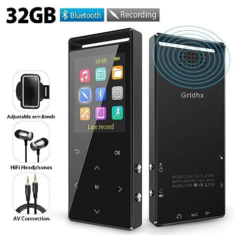 Amazon.com: Reproductor de MP3, reproductores de MP3 de 32 ...