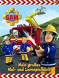 Feuerwehrmann Sam: Malbuch: Mein großes Mal- und Lernspielbuch