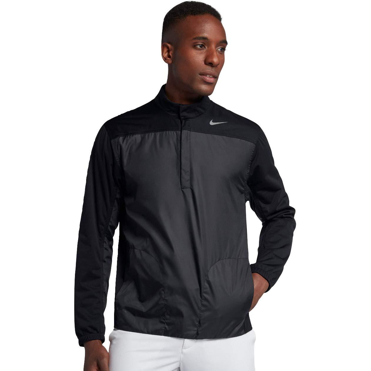 36a7bfe00 Amazon.com : Nike Shield Half Zip Core Golf Jacket 2018 : Clothing