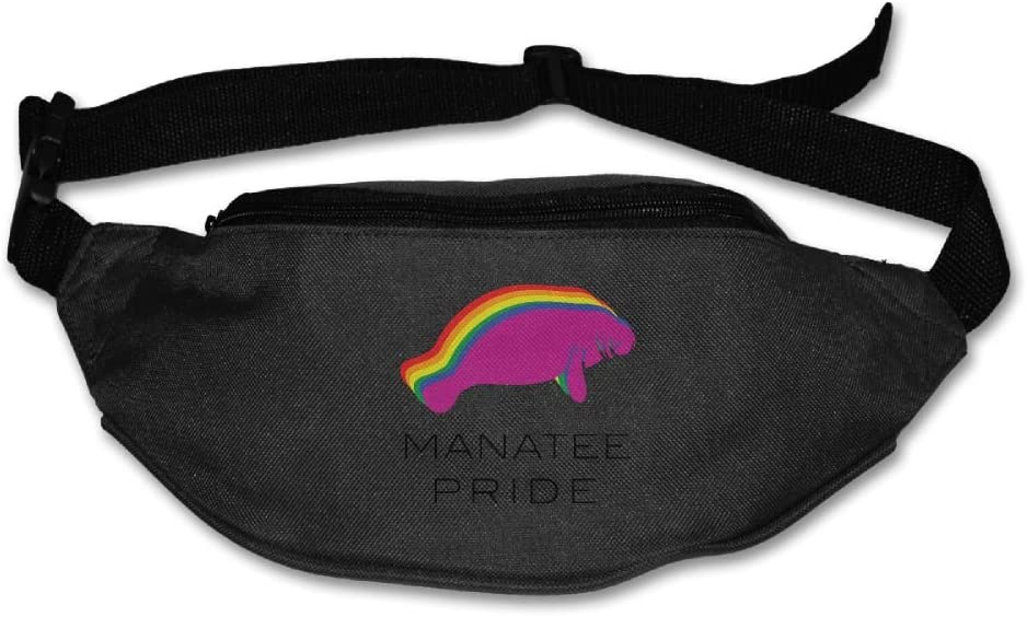 Manatee Lady Sport Waist Pack Fanny Pack Adjustable For Run