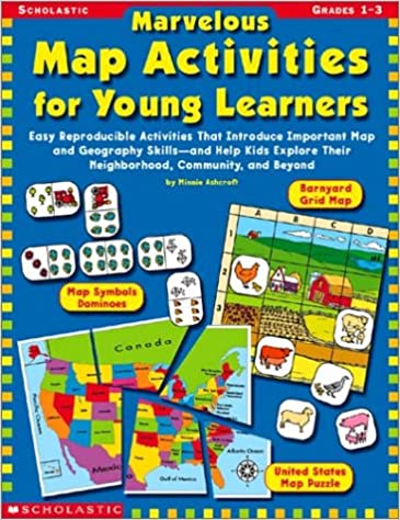 United States Map Activities.Amazon Com Marvelous Map Activities For Young Learners Easy