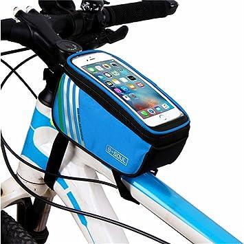 Gusspower Fahrrad Rahmentaschen Wasserdicht 55 Zoll Touchscreen