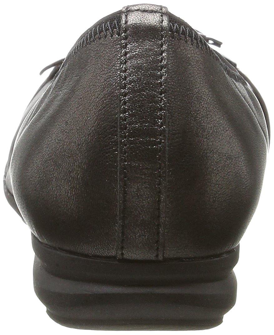 Gabor Damen Comfort Sport (17 Geschlossene Ballerinas, Grau Grau (17 Sport Steel) 95f412