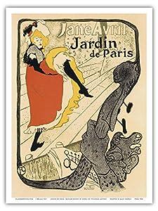 Jardin de Paris; A show by Jane Avril at the Cabaret Dance Hall ...
