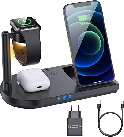 Amzlife Wireless Charger 15w Fast Wireless Charger 4 Elektronik
